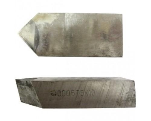 Нож 2020-0003 ВК8 угол 60 для торцевой фрезы ф125-200 мм